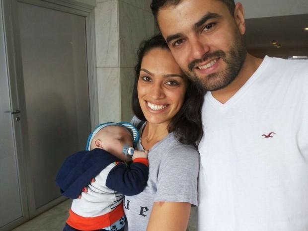 Bruno e Júlia ajudaram  grávida e marido em situação de rua e agora serão padrinhos do filho do casal (Foto: Arquivo Pessoal)