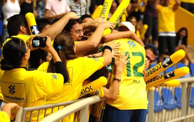 futsal falcão brasil e colômbia (Foto: Luciano Bergamaschi / CBFS)