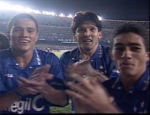 Marcelo Ramos Roberto Gaúcho Nonato Cruzeiro (Foto: Reprodução/ Tv Globo Minas)