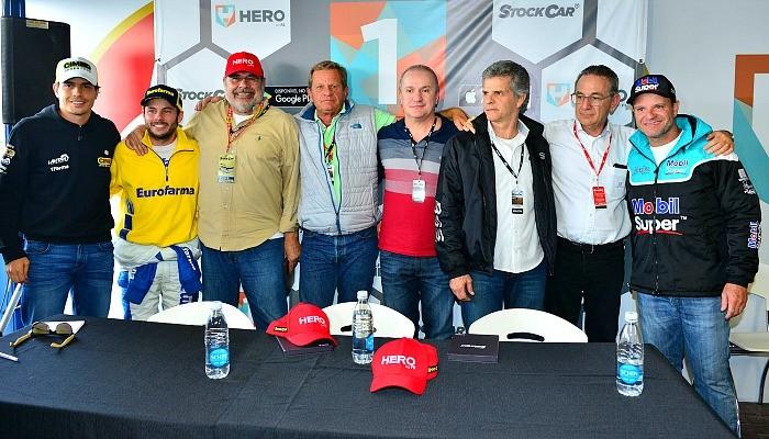 Homenagem aos campeões da Stock Car