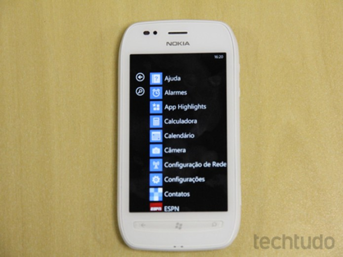 Nokia Lumia 710 (Foto: TechTudo/Marlon Câmara)