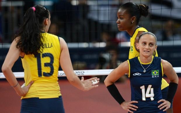 sheilla vôlei brasil x russia (Foto: AFP)