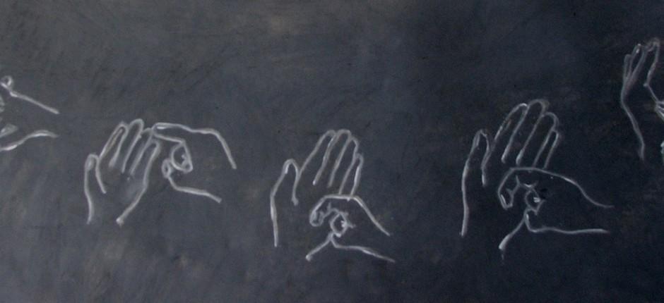linguagem dos sinais; libra; surdo (Foto: butupa / Flickr)