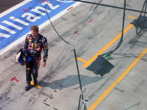 O líder Vettel conquistou o título em 2010 no Circuito de Yes Man (Foto: Divulgação / Getty Images)