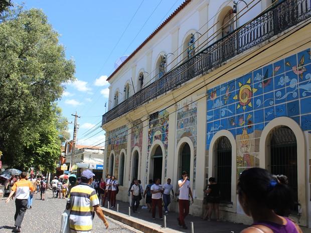 Museu do Piauí, antiga sede do Governo Estadual (Foto: Catarina Costa/G1)