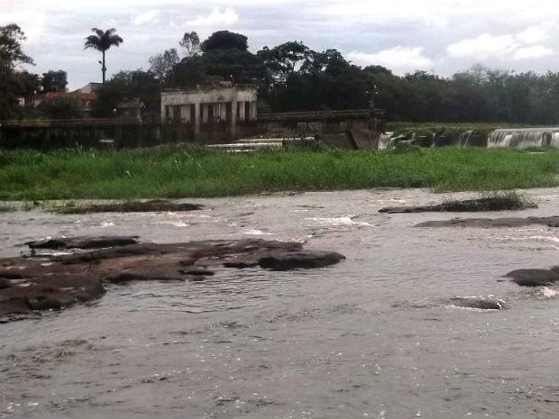 Cachoeira de Emas em Pirassununga (Foto: Marcelo Boock/ Apta)