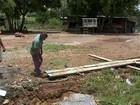 Chuva causa alagamento em três bairros de São Miguel Arcanjo