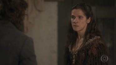 Elvira afirma a Joaquim que Quinzinho ficará com ela