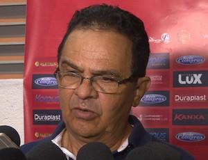 Francisco Diá, treinador do Campinense (Foto: Reprodução / TV Paraíba)