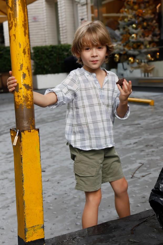 Vittorio, filho de Adriane Galisteu  (Foto: Marcos Ribas/Brazil News)