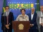 Presidente Dilma Rousseff manifesta solidariedade ao ex-presidente Lula