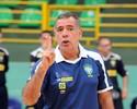 Ney Pereira comanda primeiro treino da seleção em Foz do Iguaçu (PR)