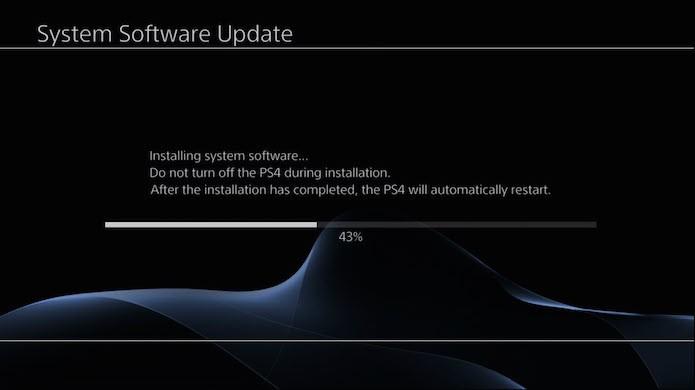 Ligue o console para iniciar a instalação (Foto: Reprodução)