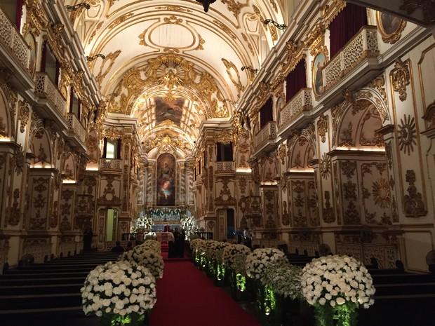 Igreja -  Casamento da Preta Gil e Rodrigo Godoy (Foto: EGO)
