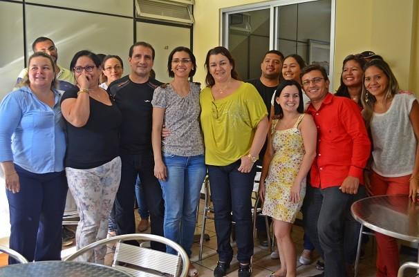 Suelen dedicou  13 anos de trabalho ao jornalismo da TV Tapajós (Foto: Priscila Miranda/ TV Tapajós)