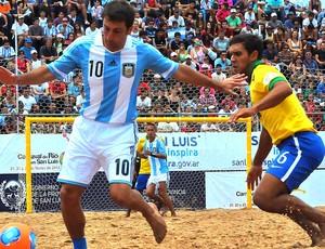 Futebol de Areia - brasil x Argentina - Rafinha (Foto: beachsoccer.com)