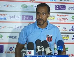 Simônio Veiga, técnico do Real Ariquemes (Foto: Jeferson Guedes)