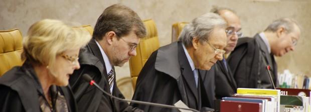 Resultado de imagem para ministros do STF lewandowski gilmar toffoli celso