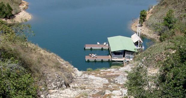 Vista da Lagoa Azul Capitólio (MG) (Foto: Divulgação)