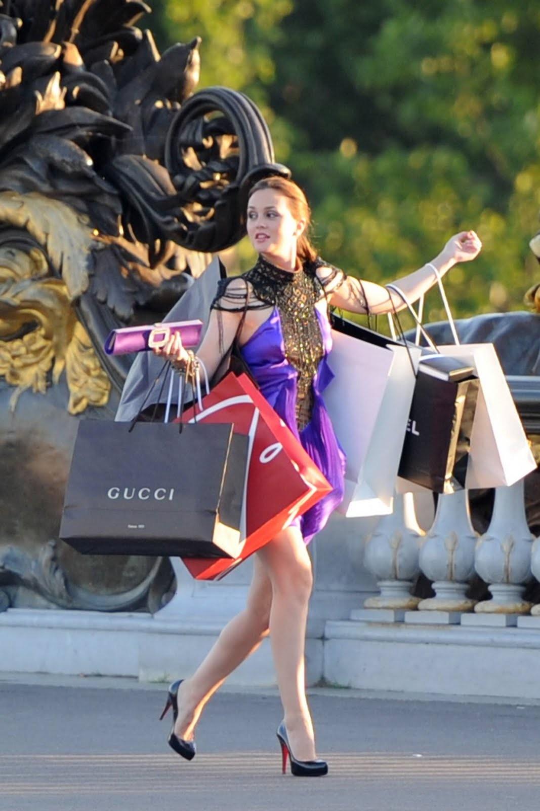 Blair Waldorf em Gossip Girl (Foto: Reprodução)