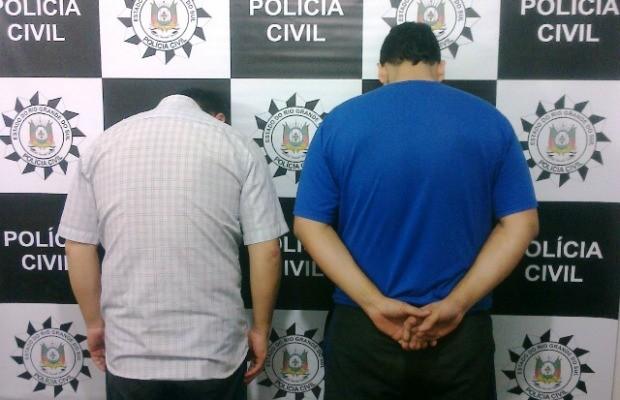 Pastor e comparsa foram presos na semana passada (Foto: Divulgação/Polícia Civil)