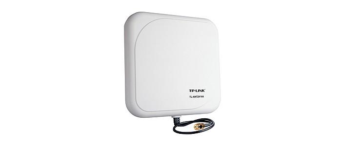 Antena direcional externa de 14 dBi da TP-Link (Foto: Divulgação)