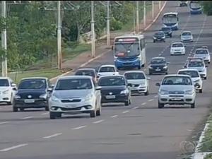 Imprudência é um dos fatores do aumento do número de acidentes (Foto: Reprodução/TV Anhanguera)
