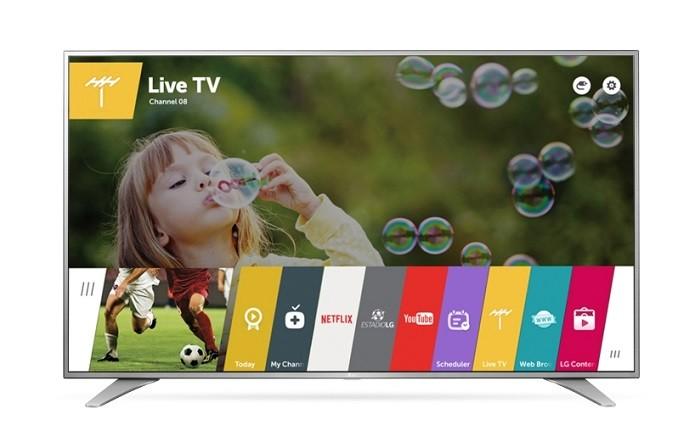 Smart Tv LG com o sistema webOS 3.0 (Foto: Divulgação/LG)