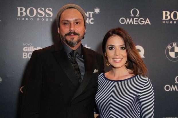 Alexandre Nero e Karen Brustolin (Foto: Anderson Borde e Marcello Sá Barreto / AgNews)