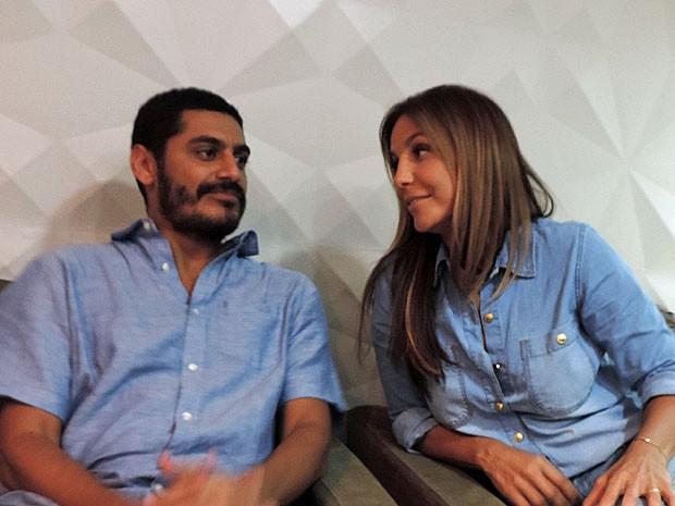 Sintonia entre Criolo e Ivete reflete na relação no palco ao interpretar Tim Maia (Foto: Katherine Coutinho / G1)