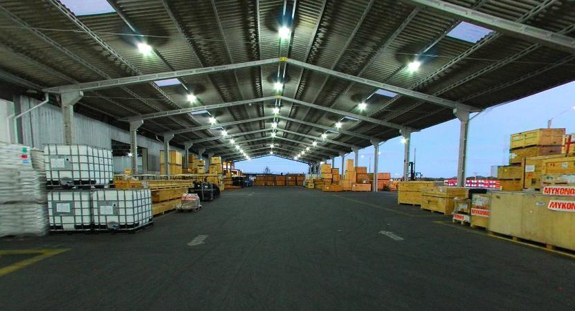 Saguão do Aeroporto Internacional de Cabo Frio é um dos principais na rota de cargueiros no Brasil (Foto: Divulgação / Grupo Libra)