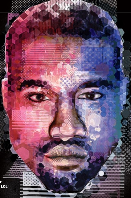 Kanye West (Foto: GQ Brasil)