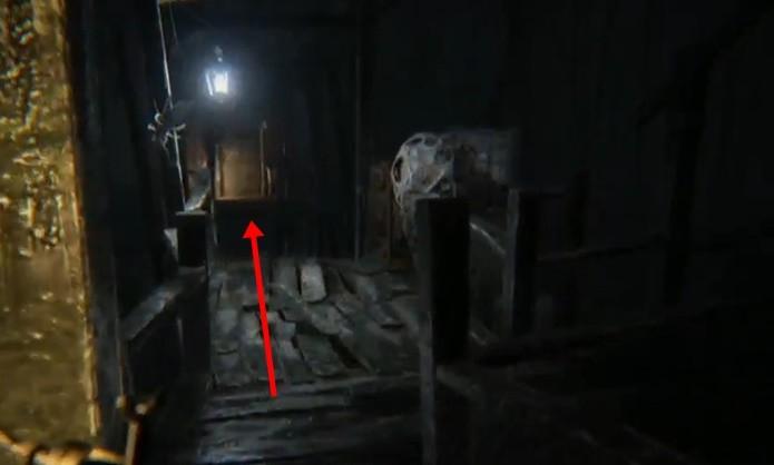 Assim como nos clássicos, Resident Evil 7 também exige chaves especiais para abrir certas portas (Foto: Reprodução/Felipe Demartini)