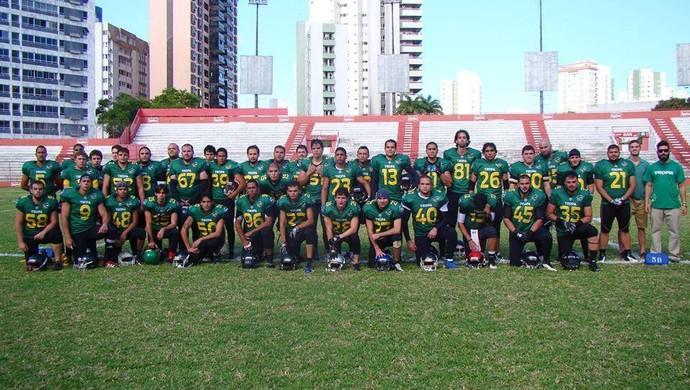 Tropa Campina, time de futebol americano (Foto: Divulgação / Tropa Campina)