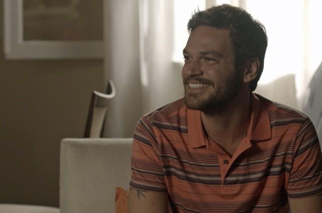 Emilio Dantas é Rubinho em cena de 'A força do querer' (Foto: Reprodução)