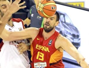 Marc Gasol jogo Espanha basquete Copa do Mundo (Foto: EFE)