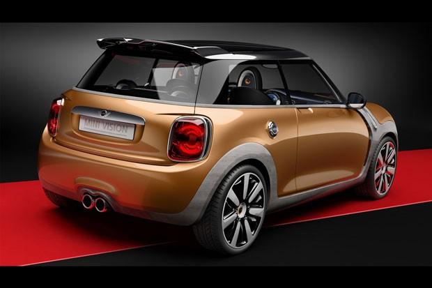 Mini Vision Concept teve a aerodinâmica melhorada (Foto: Divulgação)
