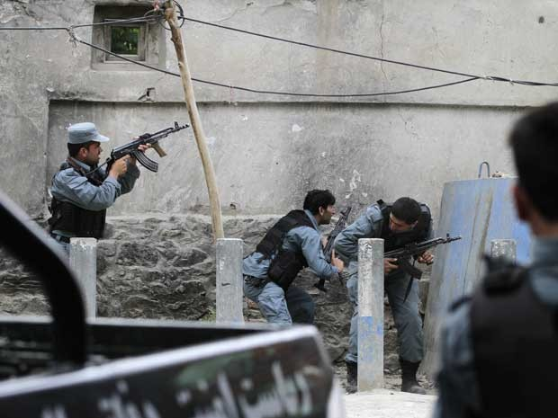 Tiroteio contra grupo talibã começou na sexta-feira (24). (Foto: Ahmad Jamshid / AP Photo)