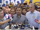 Aécio Neves exalta vitória do PSDB nas eleições apesar da derrota em BH