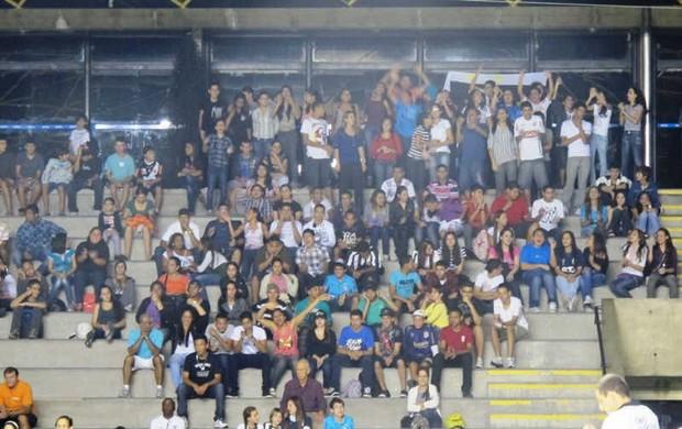 Santos Corinthians veteranos torcida (Foto: Lincoln Chaves / Globoesporte.com)