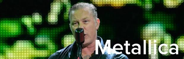 Metallica (Foto: Flavio Moraes / G1)