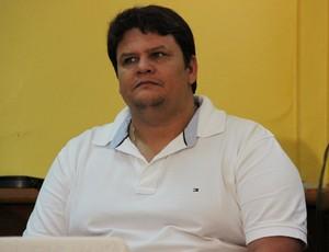 Alex Cavalcante, diretor de futebol do Rio Branco (Foto: João Paulo Maia)