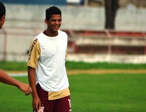 Lucão, atacante do Sergipe (2) (Foto: Felipe Martins/GLOBOESPORTE.COM)