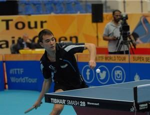 Hugo Calderano está na chave principal  (Foto: Divulgação/ITTF)