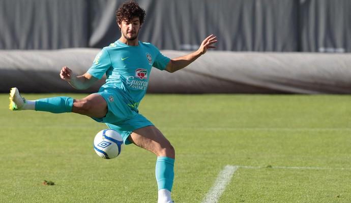 Alexandre Pato, Seleção Brasileira Treino (Foto: Rafael Ribeiro / CBF.com)