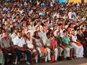 Cerimônias sempre recebem grande público em São Luís (Foto: Biné Morais/O Estado)