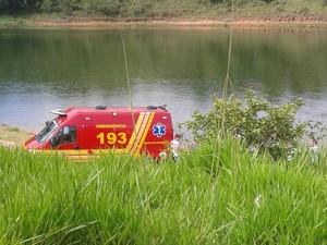 Homem desapareceu na represa (Foto: José Augusto de Castro/Vanguarda Repórter)