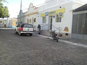 Agência de Correios em Serra Negra do Norte (Foto: Jair Sampaio)