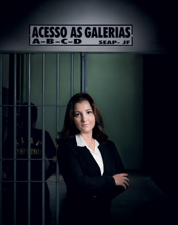 """""""Ouço sempre a mesma pergunta das presas: 'Onde está meu filho?'"""", diz a advogada Maíra Fernandes (Foto: Daryan Dornelles)"""