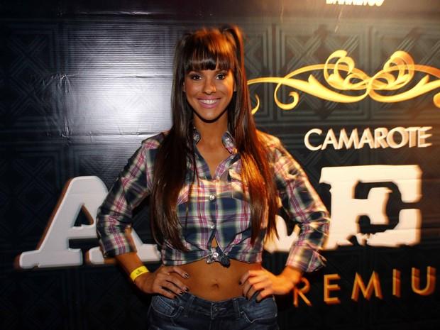 Carol Dias, panicat (Foto: Paduardo/AgNews)